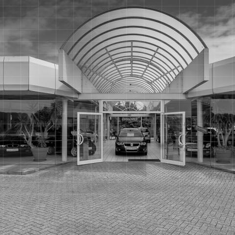 Handel | Eingangsbereich Autohaus