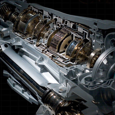 Produkte | Getriebe, Schnittmodell